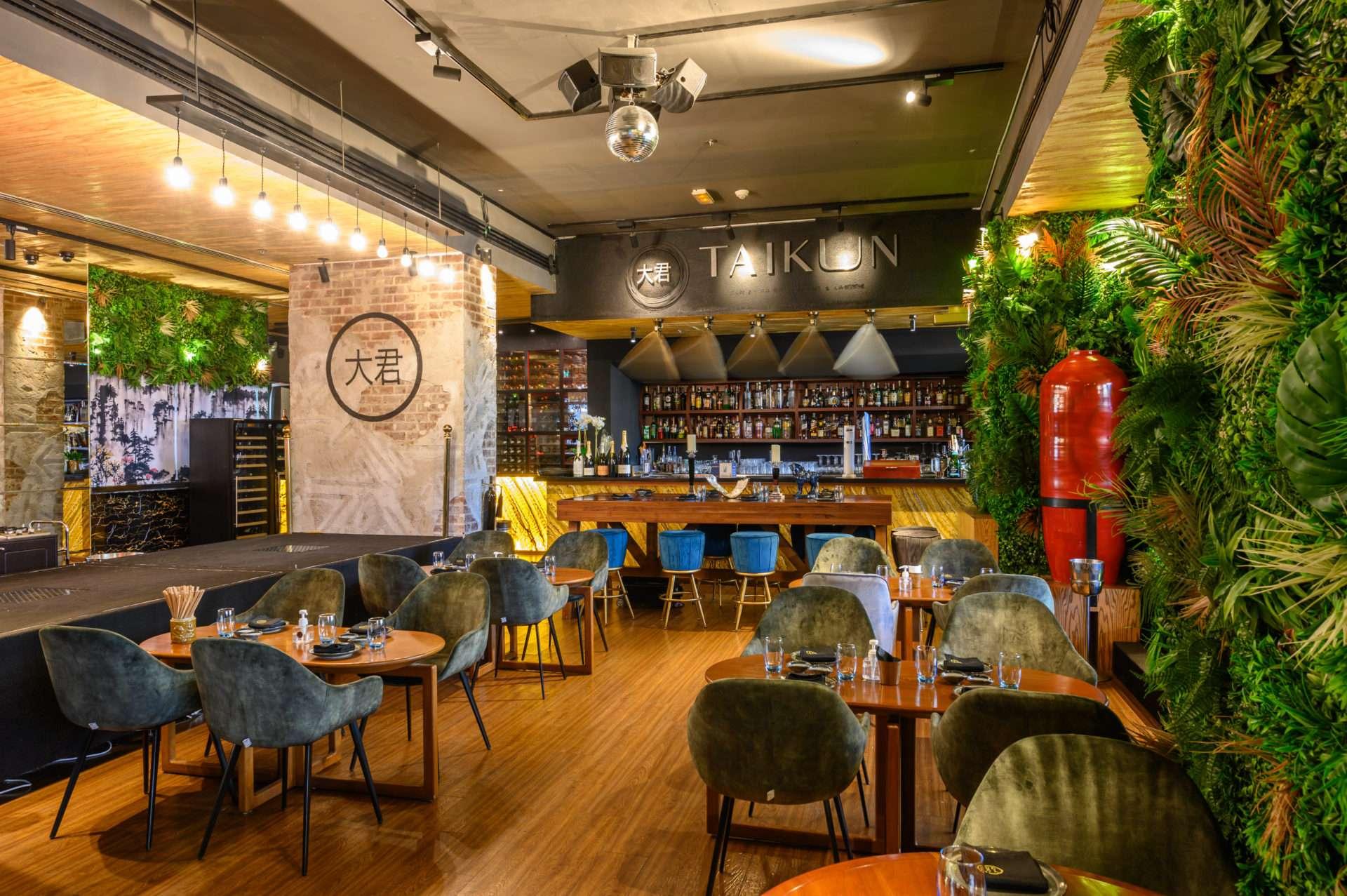 Taikun Pan Asian Restaurant & Lounge, Vida Downtown